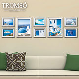TROMSO相框牆-古典8框組/白色/希臘圖