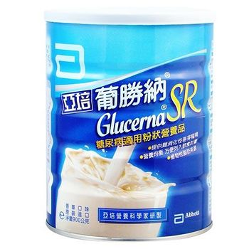 Abbott亞培 葡勝納SR(香草口味)糖尿病適用營養品 850g