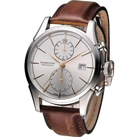 Hamilton Jazzmaster 新自由宣言計時機械腕錶 H32416581
