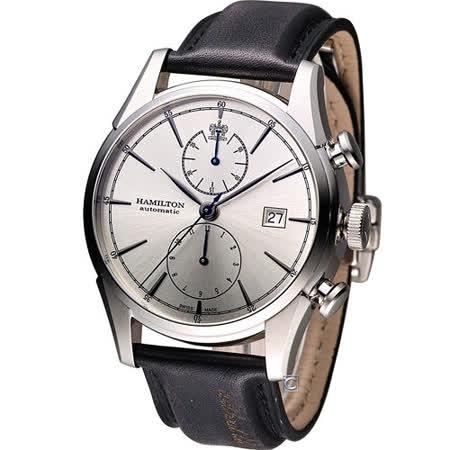 Hamilton Jazzmaster 新自由宣言計時機械腕錶 H32416781