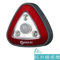 【NAKAY】3LED人體紅外線感應燈NAL-1103