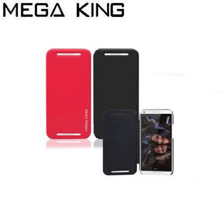 《MEGA KING》 側掀皮套 HTC Desire 816 兩色可選(黑色/桃色)