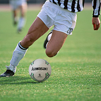 Kawasaki縫皮5號高級足球
