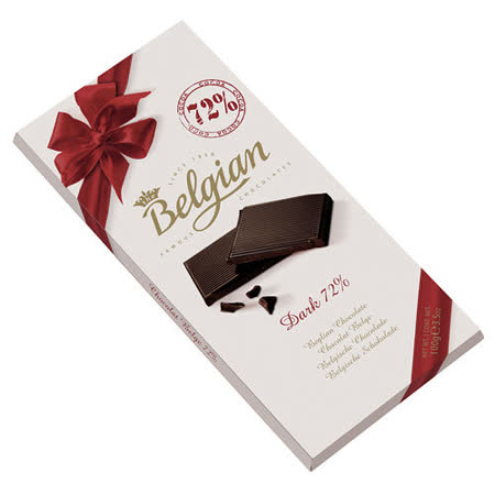 Belgian‧白儷人72%黑巧克力