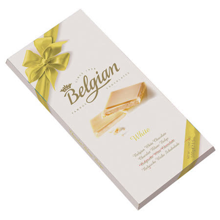 Belgian‧白儷人牛奶白巧克力100g