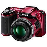 Nikon COOLPIX L810 26倍光學變焦機(公司貨)-送32G C10卡+SONY低自放充電池組(4入)+中腳架+相機包+清保組+讀卡機+桌上型小腳架