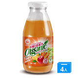 崇德發有機綜合蔬果汁295ml*4入