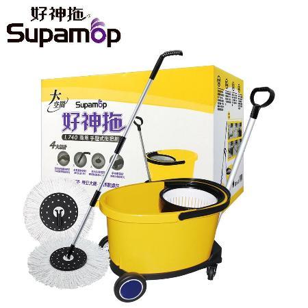好神拖-L740 商业用拖把组(1拖1桶2布+1车)