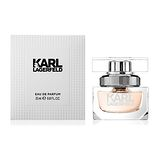 KARL LAGERFELD卡爾同名時尚女性淡香精 25ml【贈】法拉蜜品牌隨機小香*1