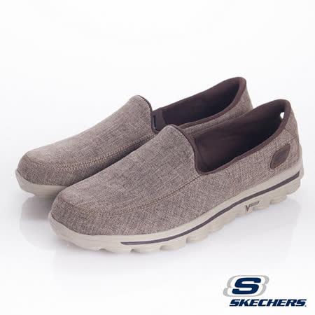SKECHERS (男) 健走系列GOwalk 2健走鞋-53594BRN