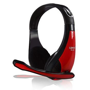 KINYO高音質立體聲耳機麥克風EM-3650