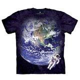 『摩達客』(預購)美國進口【The Mountain】自然純棉系列 天文地球 T恤