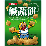 ★超值2件組★華元鹹蔬餅90g