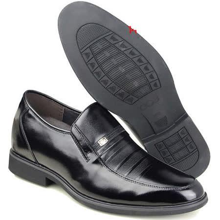 (201405新品)春秋系列10419軟底雞心商務鞋6.5cm增高GOG高哥隱形增高鞋內增高鞋