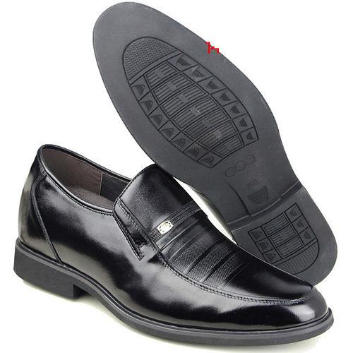 ^(201405新品^)春秋系列10419軟底雞心商務鞋6.5cm增高GOG高哥隱形增高鞋