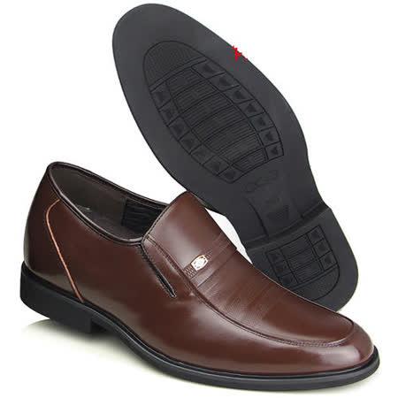 (201405新品)春秋系列20419軟底雞心商務鞋6.5cm增高GOG高哥隱形增高鞋內增高鞋