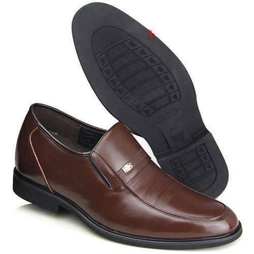 ^(201405新品^)春秋系列20419軟底雞心商務鞋6.5cm增高GOG高哥隱形增高鞋