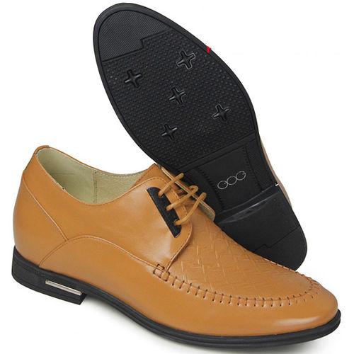 (201405新品)春秋系列80044時尚壓花軟面6.0cm增高GOG高哥隱形增高鞋內增高鞋