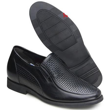 (201405新品)夏冬系列80419軟面雞心涼鞋6.5cm增高GOG高哥隱形增高鞋內增高鞋