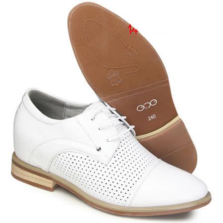(201405新品)夏冬系列11419牛筋底二節頭6.5cm增高GOG高哥隱形增高鞋內增高鞋