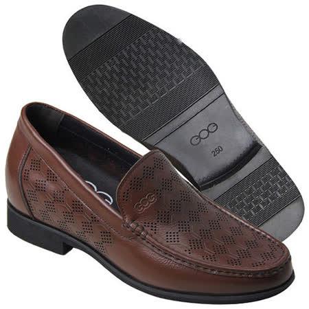 (201405新品)夏冬系列21419激光雕刻涼鞋6.5cm增高GOG高哥隱形增高鞋內增高鞋
