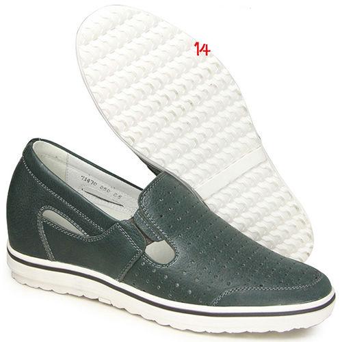 ^(201405新品^)夏冬系列07417亞面透氣涼鞋6.0cm增高GOG高哥隱形增高鞋內