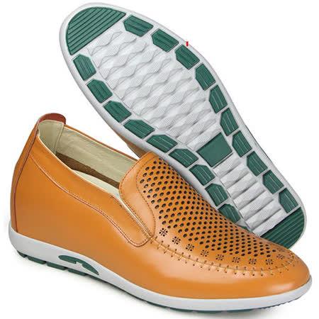(201405新品)夏冬系列61044超軟面涼鞋6.0cm增高GOG高哥隱形增高鞋內增高鞋