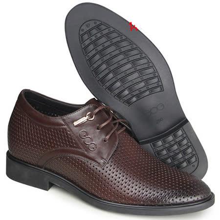 (201405新品)夏冬系列15418超軟面涼鞋6.5cm增高GOG高哥隱形增高鞋內增高鞋