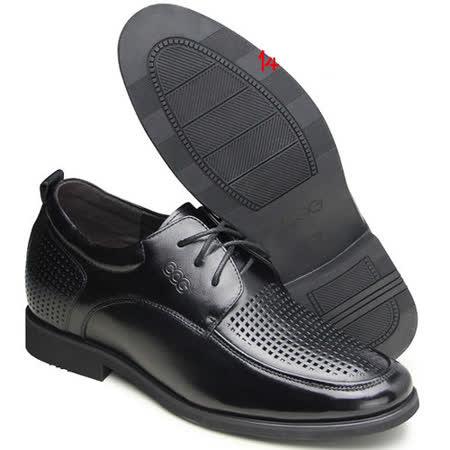 (201405新品)夏冬系列90419雞心紳士涼鞋6.5cm增高GOG高哥隱形增高鞋內增高鞋