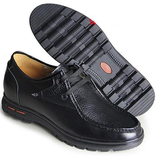 ^(201405新品^)休閒系列16417荔紋軟底軟面6.5cm增高GOG高哥隱形增高鞋內