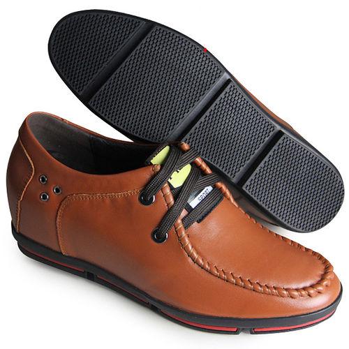 ^(201405新品^)休閒系列70419雞心繞線6.5cm增高GOG高哥隱形增高鞋內增高