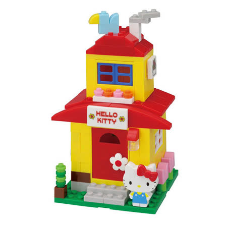 《Nano Block PLUS》【HELLO KITTY系列】PK-003甜蜜的家