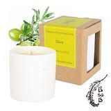 【Bsab】100% 純天然大豆蠟 精油蠟燭(綠橄欖)