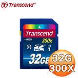 Transcend 創見 32G SDHC (CL10) UHS-I 300x 記憶卡