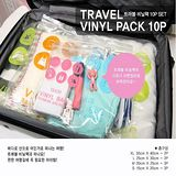 【PS Mall】旅行收納袋套裝 收納包包袋子_2入(J1583)