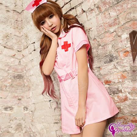 【Sexy Cynthia】粉嫩天使!二件式護士角色扮演服