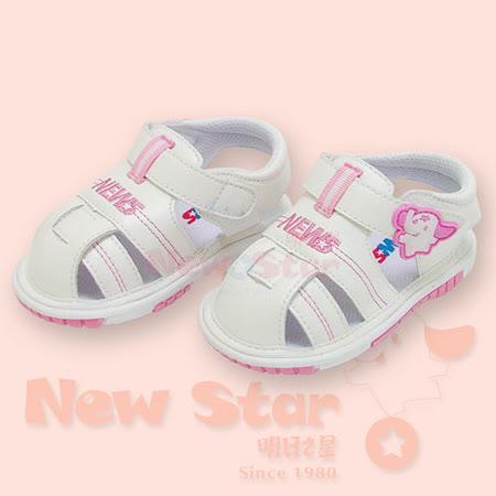【聖哥-NEWS】啾啾涼鞋(高級防滑底)白粉  三種尺碼可選