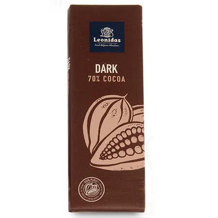 Leonidas 比利時 - 70%醇黑巧克力 50g