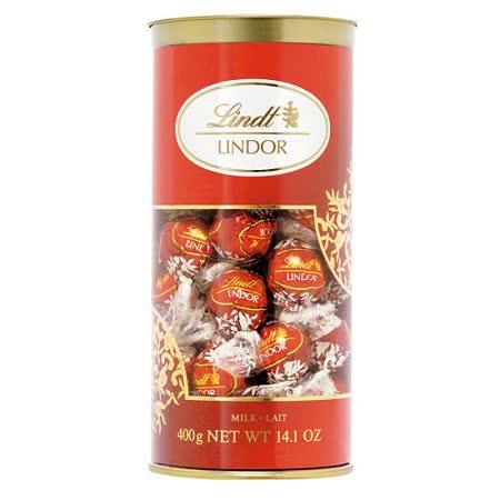 Lindt LINDOR 瑞士 牛奶巧克力(分享包400g)