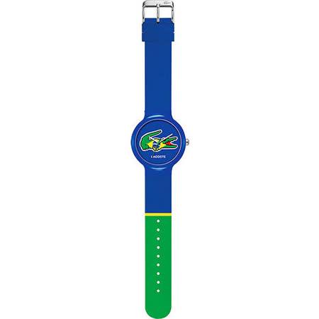 Lacoste 國旗系列世足賽熱血腕錶-巴西 L2020069