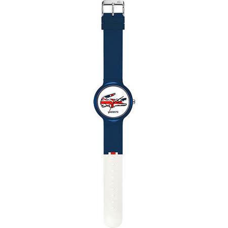 Lacoste 國旗系列世足賽熱血腕錶-英國 L2020072
