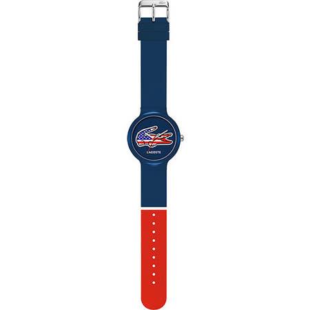 Lacoste 國旗系列世足賽熱血腕錶-美國 L2020073