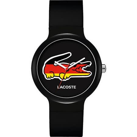 Lacoste 國旗系列世足賽熱血腕錶-德國 L2020070