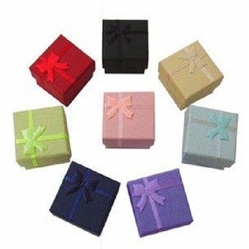 ~PS Mall~戒指盒 耳環盒 包裝盒 飾品盒_4入 ^(J2349^)