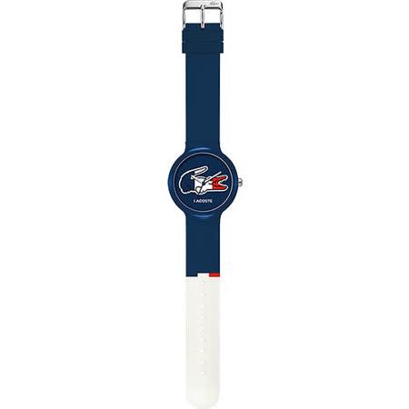 Lacoste 國旗系列世足賽熱血腕錶-法國 L2020068