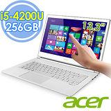 Acer S7-392 13.3吋 i5-4200U 256G SSD Win8輕薄強效觸控筆電–送收納箱+acer無線滑鼠