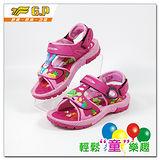 [GP]快樂童鞋-鞋面多變龜兔圖案涼鞋-G9176B-45(桃紅色)共有二色