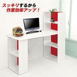(預購)日系艷陽雙向機能型4+2格書櫃型書桌