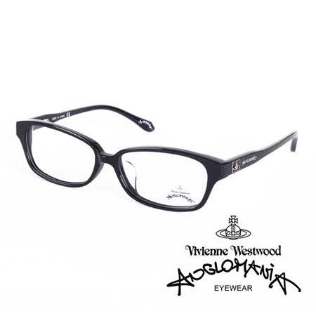Vivienne Westwood 英國Anglomania英倫龐克方塊土星環光學眼鏡(黑)AN24901