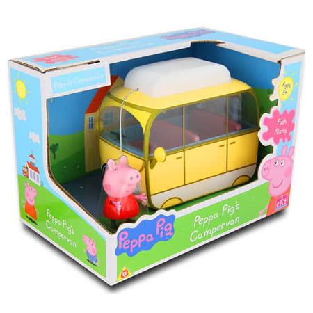 《Peppa Pig》粉紅豬小妹露營車